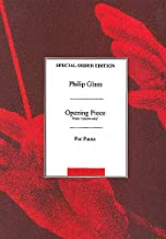 Philip Glass: Opening Piece From Glassworks. Partitions pour Piano