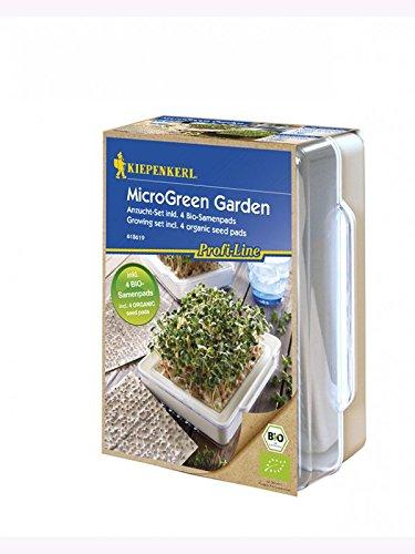 MicroGreen Garden, Cressbar, Starter Set Inkl. 4 BIO Samenpads
