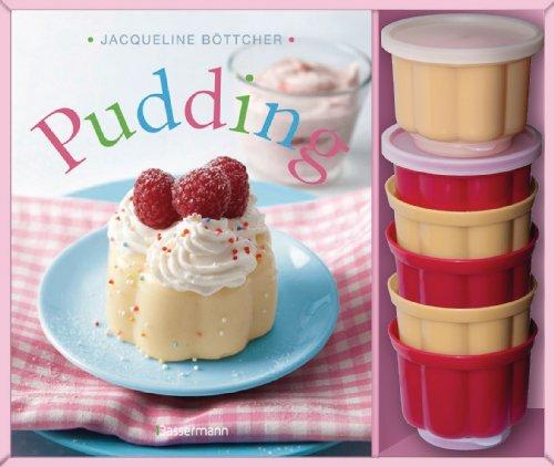 Pudding-Set: Buch und 6 passende Puddingförmchen