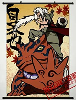 Home Decor Naruto Jiraiya Cosplay Wall Scroll Poster 35.4 X 23.6 Inches-500