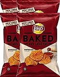 Lay's Oven Baked Barbecue Potato Crisps Gluten Free Snacks 6.25 oz. (4)