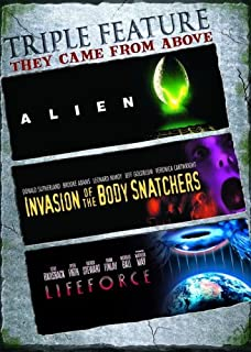 They Came from Above - Triple Feature: (Alien / Invasion of the Body Snatchers / Lifeforce)
