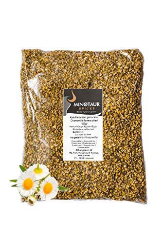 Minotaur Herbs | Echte Kamillenblüten getrocknet | 2 X 500g (1 Kg) | Kamille Tee Kamillentee