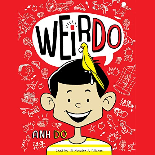 WeirDo audiobook cover art