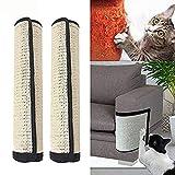 Womdee Protectores de Muebles de Mujer de Gatos rayados, 2 Unidades, 100% sisal Natural para Gatos, Muebles de Gato, Protectores de arañazos para sofá, Puerta, Muebles de Madera