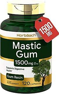 Horbaach Mastic Gum 1000mg 120 Capsules | Non-GMO & Gluten Free
