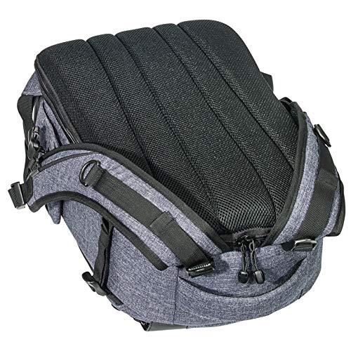 PEDEA DSLR-Kameratasche Fashion mit Displayschutzfolie 0010 (Rucksack, grau)