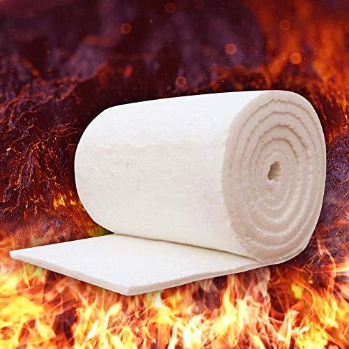 Löschdecke Brandschutzdecke Baumwolldecke Keramische Faser-Isolierdecke Wasserdicht Feuchtigkeitsfest Korrosionsbeständig Löschdecke Temperaturbeständigkeit beträgt 950 bis 1400 ° C