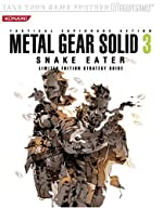 Metal Gear Solid 3® - Snake Eater? Limited Edition Strategy Guide de Dan Birlew