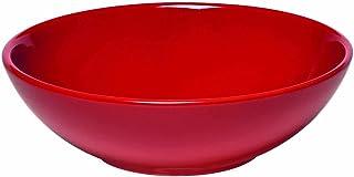 """Emile Henry Made In France Salad Bowl, 9"""", Burgundy Red"""