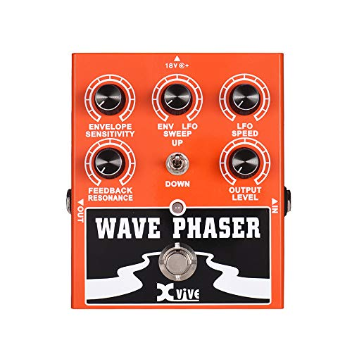 XVIVE Wave Phaser Guitar Effect Pedal True Bypass Full Metal Shell