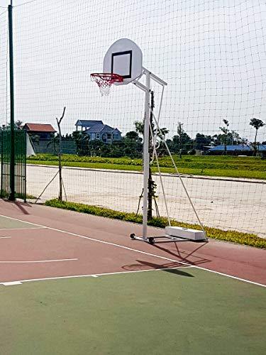 POWERSHOT Basketballkorb - Leicht zu bewegen Dank der mitgelieferten Räder! - Langlebig und dennoch erschwinglich! - Perfekt für den Einsatz in der Einfahrt!