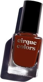 Cirque Colors Metropolis Collection - Crème Nail Polish - Famous Original - Red Brown - 0.37 fl. oz. (11 ml) - Vegan, Cruelty-Free, Non-Toxic Formula