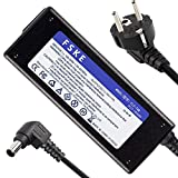 FSKE 19V 4A Cargador Adaptador de Corriente para LG LCD LED Monitor HD TV Pantalla Grande Flatron IPS236V IPS236-PN Compatible con Fuente de alimentación de 19'20' 22'23' 24'27'