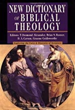 Best new dictionary of biblical theology online Reviews