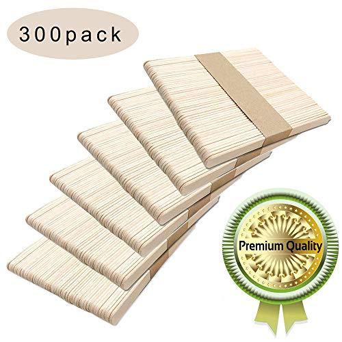 1 、 Los palos de colores parecen muy resistentes. Los colores naturales son adecuados para hacer palitos de paleta que el color. 2 、M MATERIAL SEGURO Y SALUDABLE: Estos palitos de paleta están hechos de madera natural de calidad alimentaria de alta c...