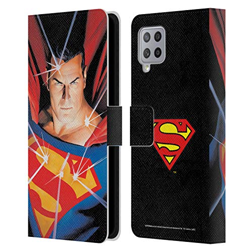 Head Case Designs Officially Licensed Superman DC Comics Alex Ross Mythology Famous Comic Book Covers Leather Book Wallet Case Cover Compatible with Samsung Galaxy A42 5G (2020)