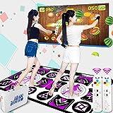 シュミ ダブルダンシングカーペット デュアルユーステレビ/コンピューター適用 体性感覚ゲーム ダンスマシン