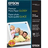 Epson Premium Photo Paper GLOSSY (11x17 Inches, 20 Sheets)...
