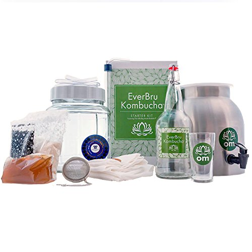 Northern Brewer - Kombucha Brewing Starter Kit With Scoby Included (Everbru Deluxe)