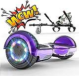 RCB Hoverboard Elettrico Scooter con Hoverkart Go-Kart Costruito...