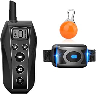 comprar comparacion EKOHOME Collar de Entrenamiento para Perros, Collar antiladridos sin Descarga Eléctrica, con Función de Vibración y Sonido...