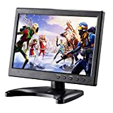 Kalesmart 10.1 inch Small Computer Monitor HD 1024x600 with HDMI VGA BNC Port, Raspberry pi Display Screen Monitor, Video HDMI Monitor - Build with Speakers, Remote