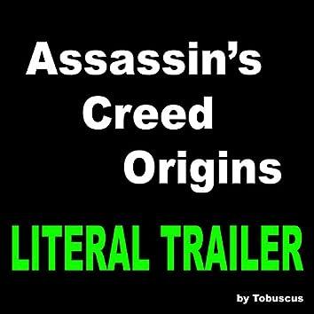 Assassin's Creed Origins (Literal Trailer)