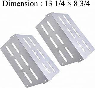 GasSaf Heat Deflector Replacement for 7622 Weber Genesis 300 Series E310 E320 E330 S310 S320 S330 with Front Control Knob(2011 & Newer)Replace for Weber Stainless Steel 65505/62756(13 1/4