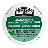Martinson Single Serve Coffee Capsules, Italian Roast, Compatible with Keurig K-Cup Brewers, 48 Count