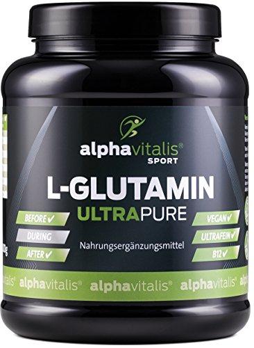 L-Glutamin Pulver ULTRAPURE - 99,95{e5be51feb3a3f885f6acf02d4e7513fa498c0b39d662190cc85b1405c9a84f20} rein - 1000g - neutral - vegan - glutenfrei - laktosefrei - feinstes L-Glutamin Pulver in Premium-Qualität