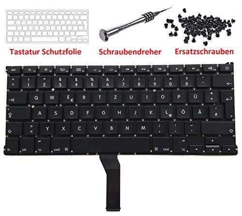 """Preisvergleich Produktbild Kricson Ersatz GR deutsche Tastatur QWERTZ Tastatur für Apple MacBook Air 13"""" für A1369 A1466 GR MC503 MC504 MD231 in Deutsch DE ohne Backlitfolie Deutschland 2011 2012 2013 2014 2015"""