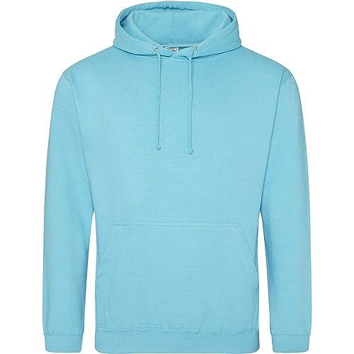 Mens Turquoise Sweatshirt Pullover