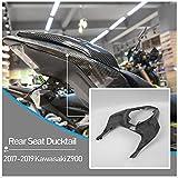 Z900 ZR900 In fibra di carbonio superiore coda d'anatra sedile posteriore copertura carenatura pannello coda d'anatra per 2017 2018 2019 2020 Kawasaki Z ZR 900 accessori moto parti 17 18 19 20