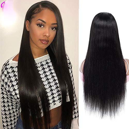 Perruque lace front 71,1 cm 76,2 cm Cheveux humains Remy Lace Front Perruque Lace Front Cheveux humains 13×4 13×6 Perruque Lace Wigs brésiliens, coule