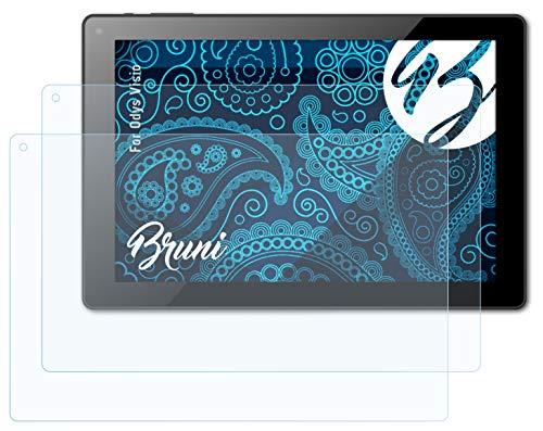 Bruni Schutzfolie kompatibel mit Odys Visio Folie, glasklare Bildschirmschutzfolie (2X)