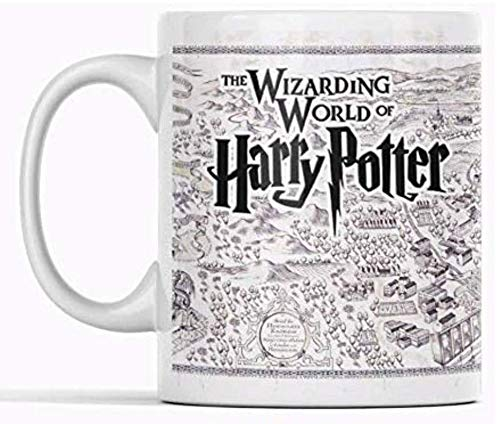 Clapper Taza Harry Poter. Taza de Cafe The Wizarding World of Harry Potter