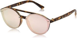 نظارة شمسية للجنسين مقاس 46 ملم من تي اف ال - بني
