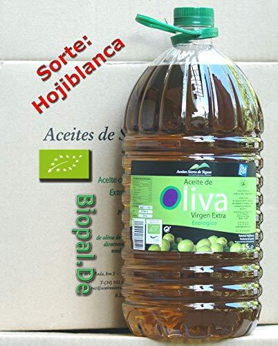 Bestes Premium Olivenöl 5 Liter Sortenrein Sorte = Hojiblanca Restaurant-Verpackung. Erste Kaltpressung. Diverse Preise in Andalusien/Spanien gewonnen, sortenrein Hojiblanca. Spitzenqualität. Mild mit leichter Schärfe im Nachklang. Dieses Olivenöl kann auch zum Grillen, Backen, Dämpfen, Braten oder Dünsten verwendet werden.