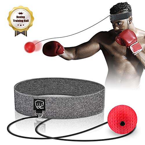 SYOSIN Boxing Reflex Ball, Pelota de Reflejos Boxeo con