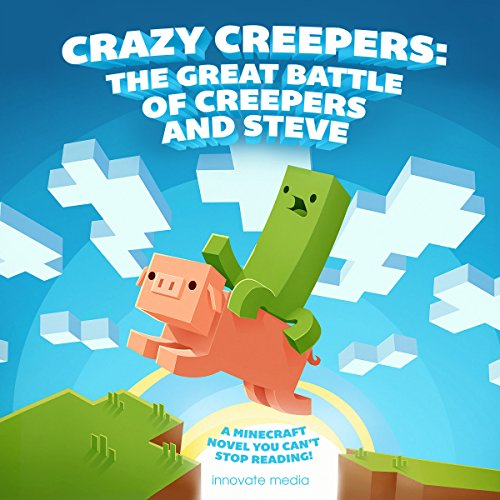 Crazy Creepers audiobook cover art