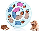 Dog Puzzle Toys,Dog Puzzles,Interactive Dog Toys and Cats Toys,Dog Training Treats Toys,Colorful Design Slow Feeder Dog Bowls to Aid Pets Digestion