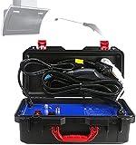 WSVULLD Vapor Limpiador presurizado, máquina de Lavado de Vapor 6 Ajuste de Velocidad 20S Calor rápido, limpiadores de Vapor a Mano de Acero Inoxidable conservante de Cuerpo de Acero Inoxidable, b