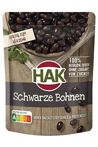 Schwarze Bohnen 225g im Beutel HAK 7 Stück (7 x 225 gr)