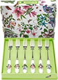 Portmeirion Botanic Garden Pastry Forks (Box of 6)