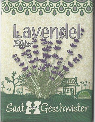 Die Stadtgärtner Lavendel-Saatgut | Samen des echten Lavendel für den Garten, Balkon oder Terrasse | zum Selbstpflanzen