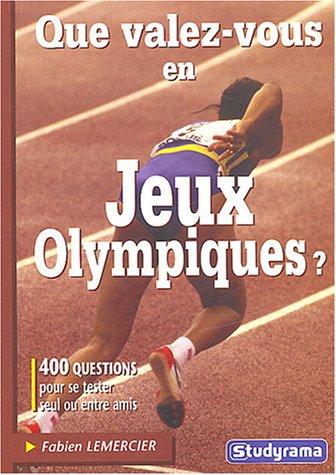 Que valez-vous en Jeux Olympiques ?
