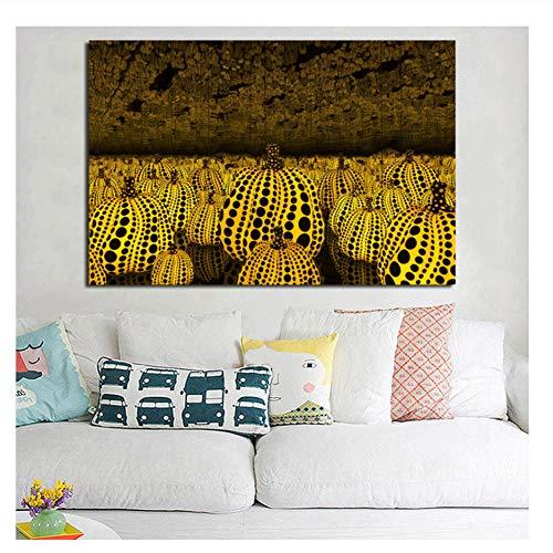 nr Yayoes Kusamaer Infinity Mirrors Wallpaper Leinwand Poster Drucke Wandkunst Gemälde Dekoratives Bild Home Decoration -60x80cm Kein Rahmen