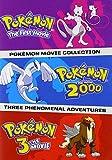 Pokemon Movies 1-3 (Standard Edition) (DVD)
