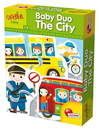 Lisciani Giochi 58563 - Puzzle Carotina Baby Duo City